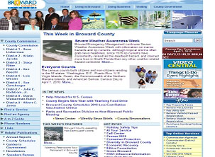 Broward County Government Page