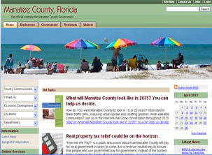 Manatee County Government Page