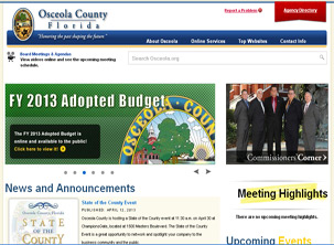 Osceola County Government Page