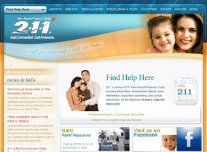 St. Lucie County 211 website